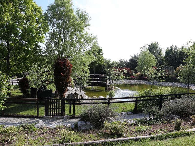 Location matrimoni con parco