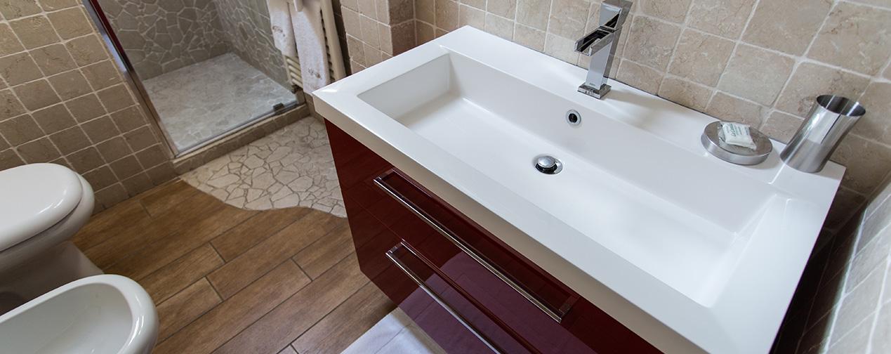 bagno camera brianza